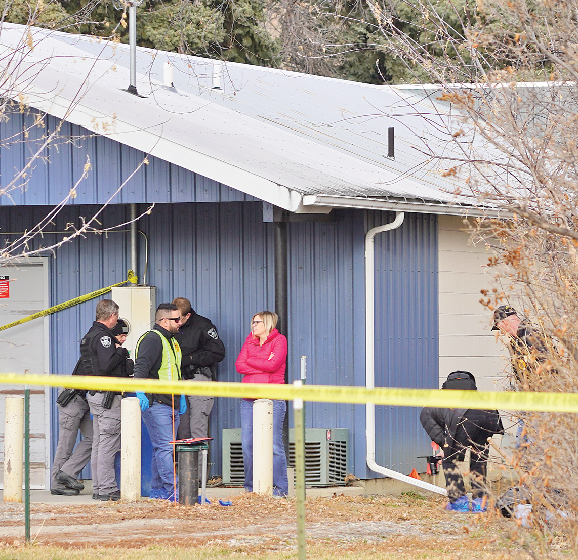 Body Found Behind Park City Post Office