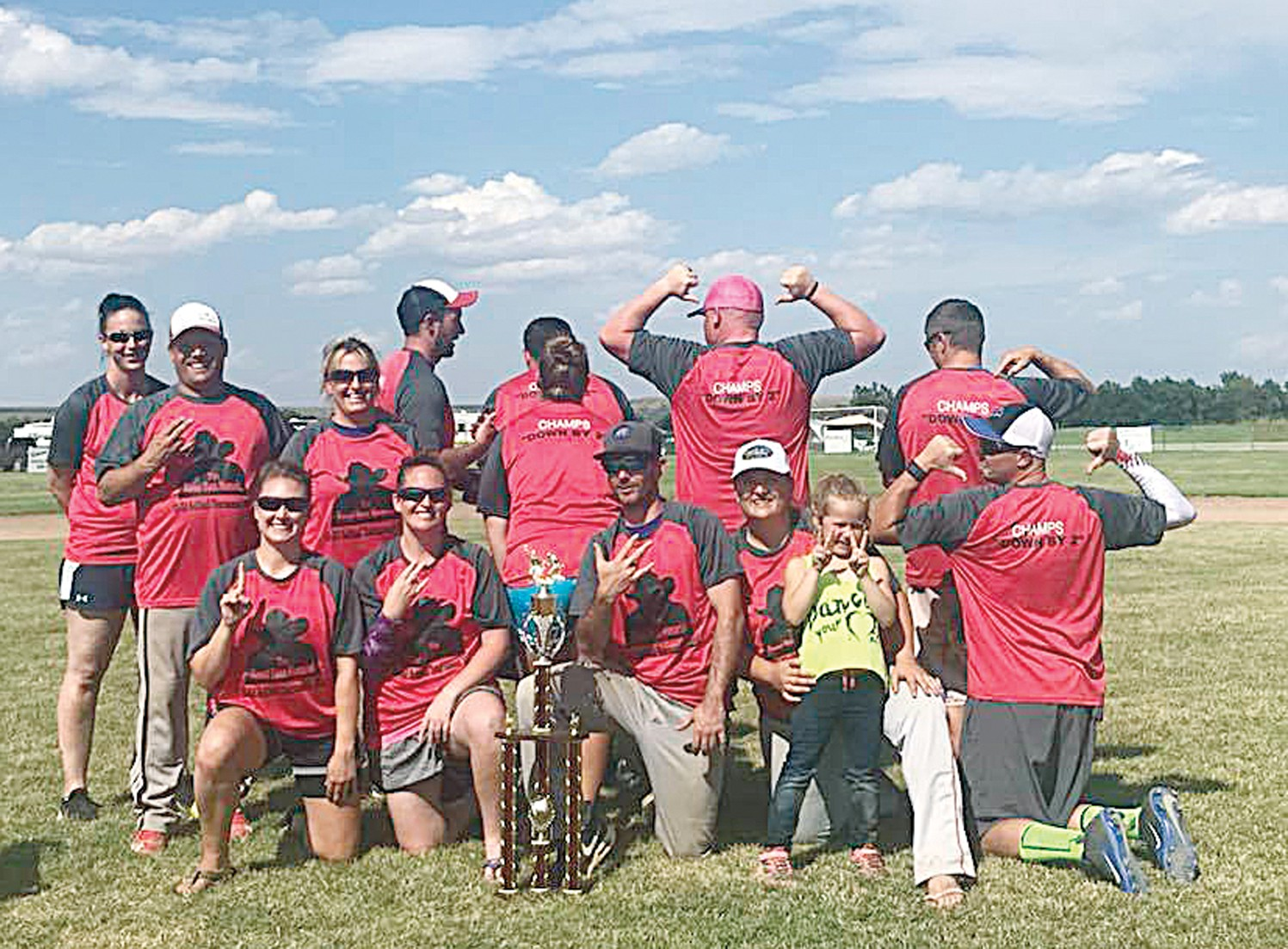 Photo courtesy of George BergThe first place team was the Shockers out of Billings.