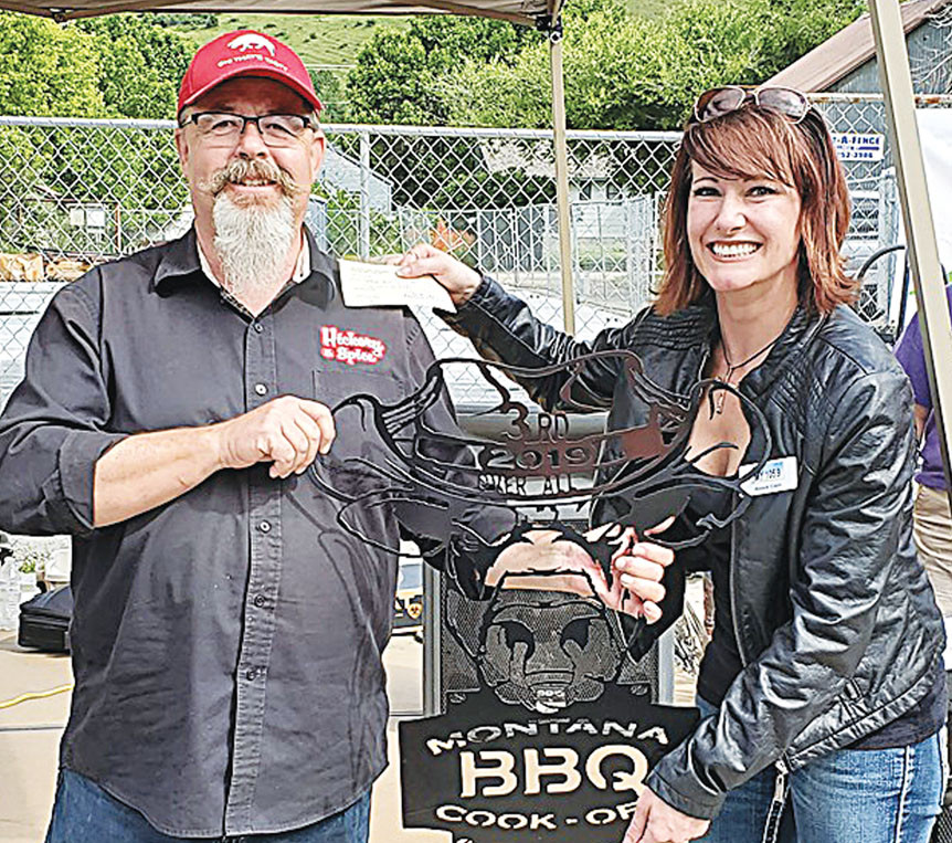 Photo courtesy of the Montana BBQ Cook-OffThird Overall was Hickory and Spice BBQ