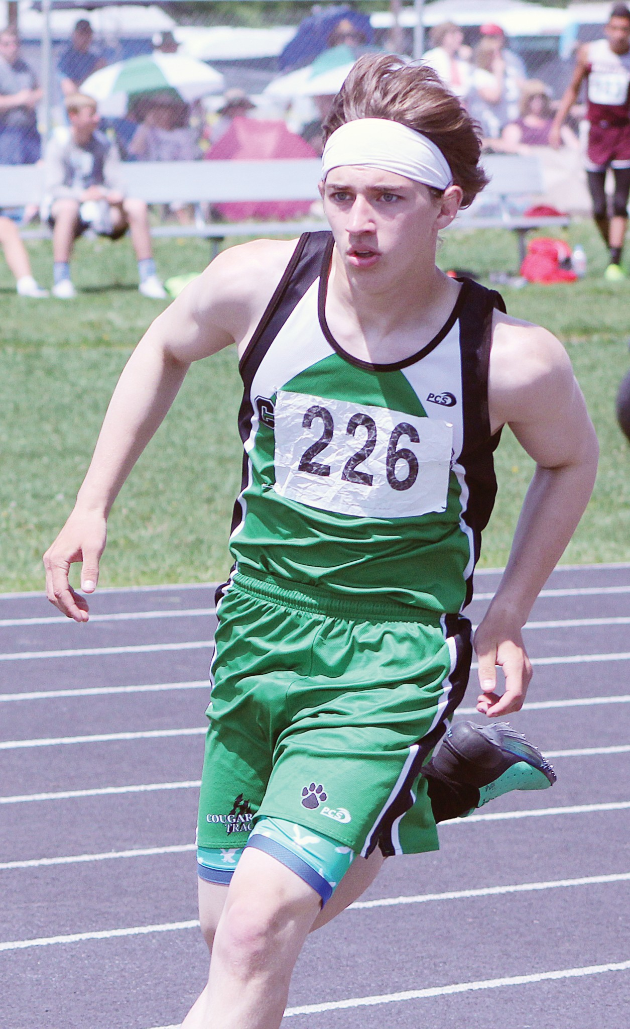 Columbus Cougar Connor Goddard -- 800m