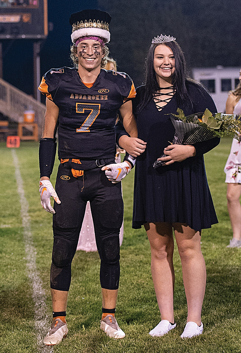 (Photo by Bud Chenault) King Colton Young and Queen Keara Young.