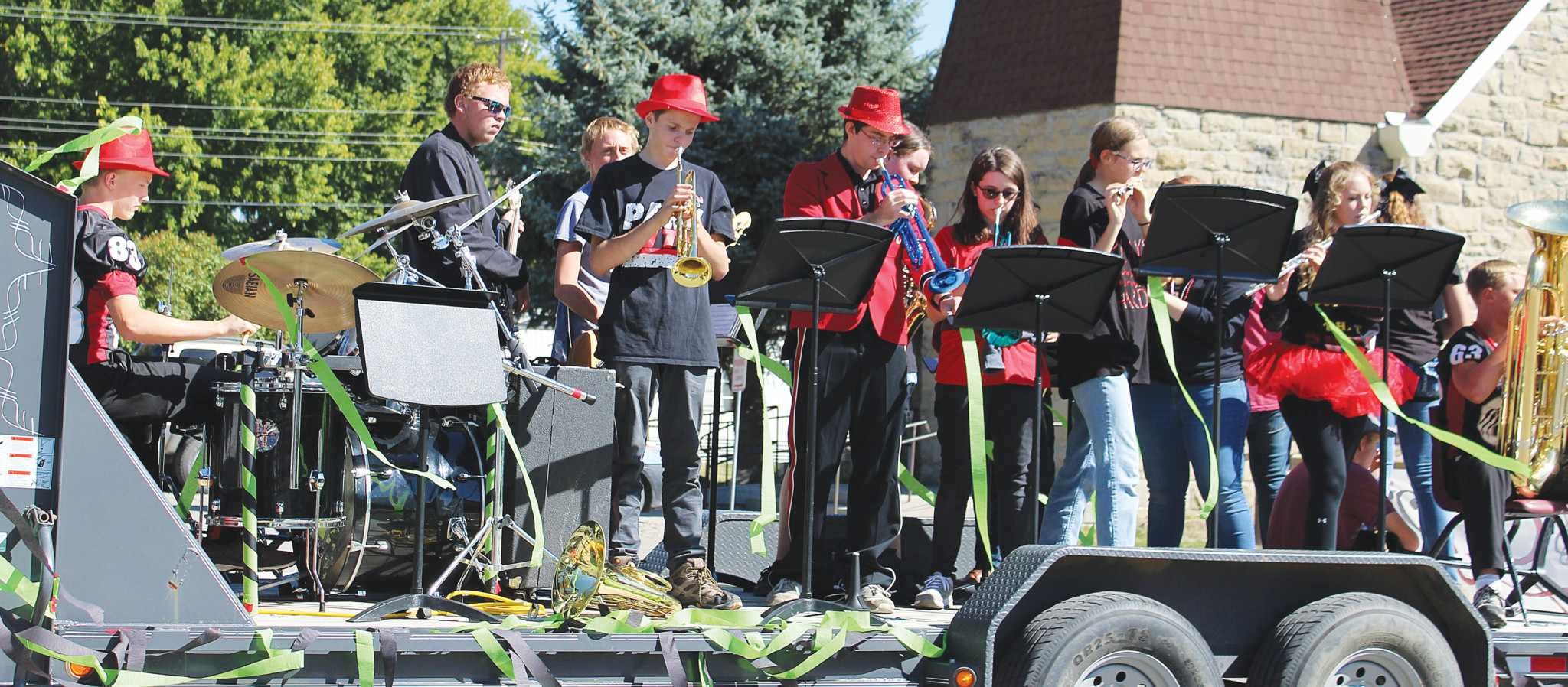 Park City's school band