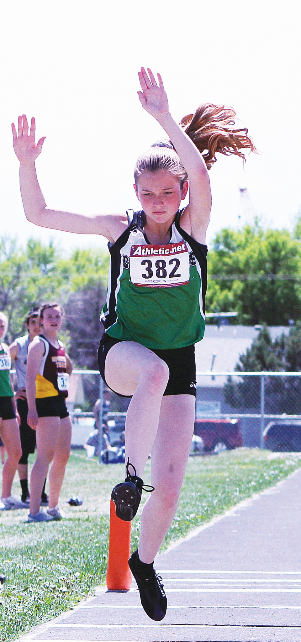 Columbus' Shelby Knudsen - triple jump