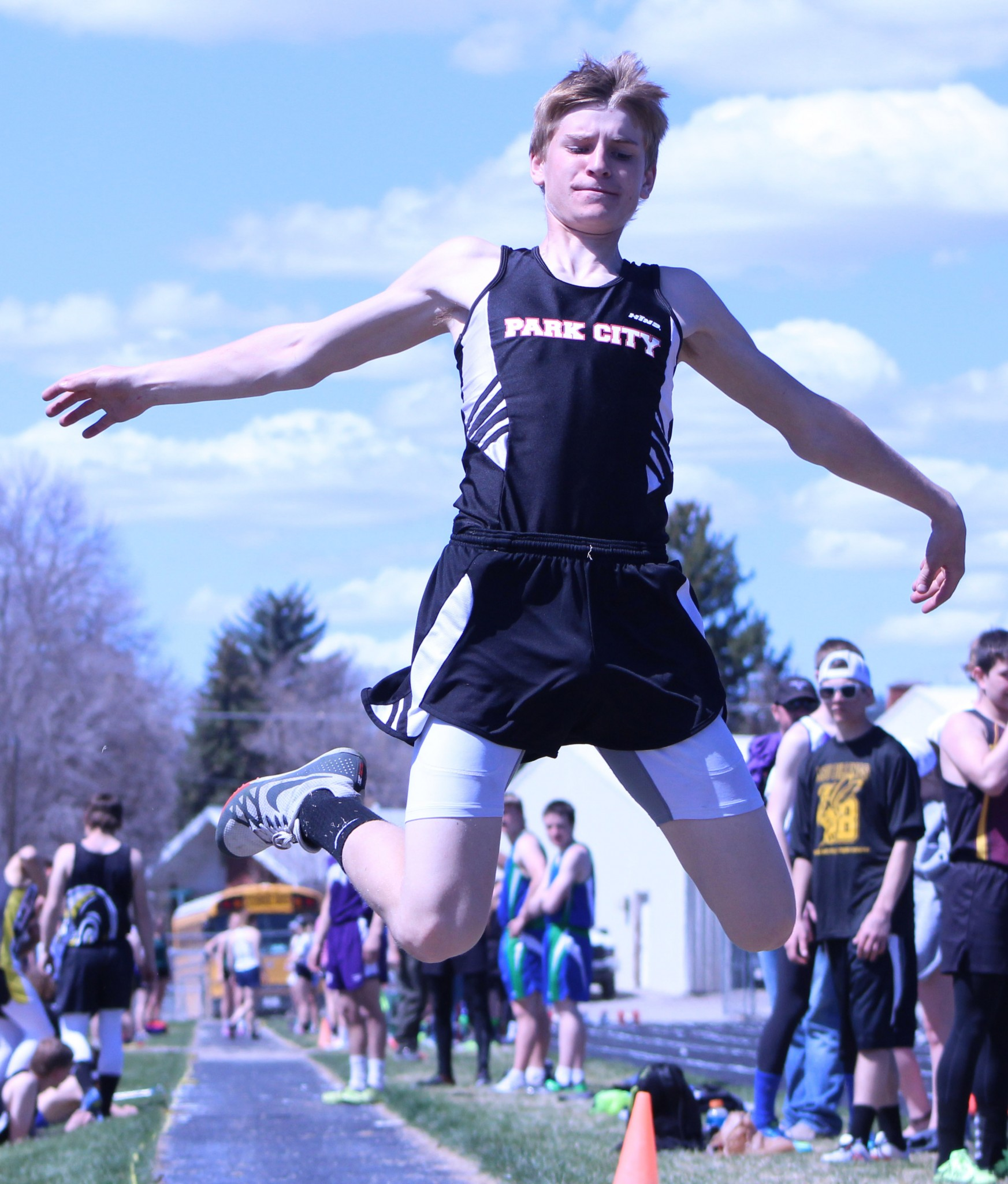 Park City junior Seth Popp - triple jump