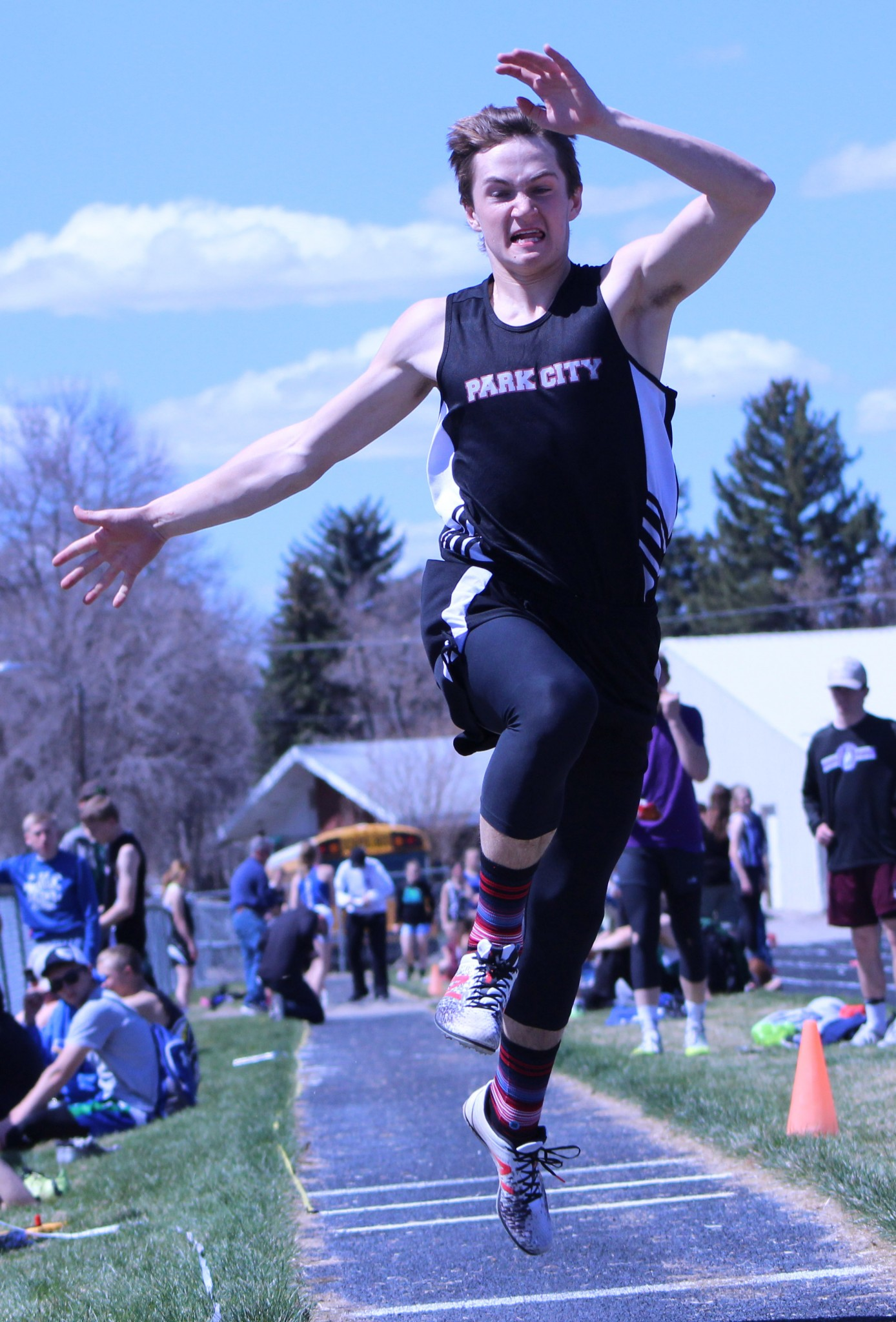 Park City senior Rylan Gauthier - triple jump